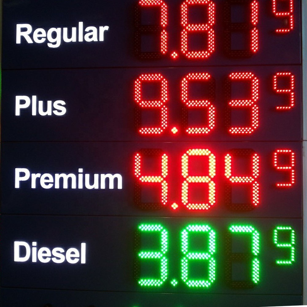 16 inch Gas price LED signs Petro LED