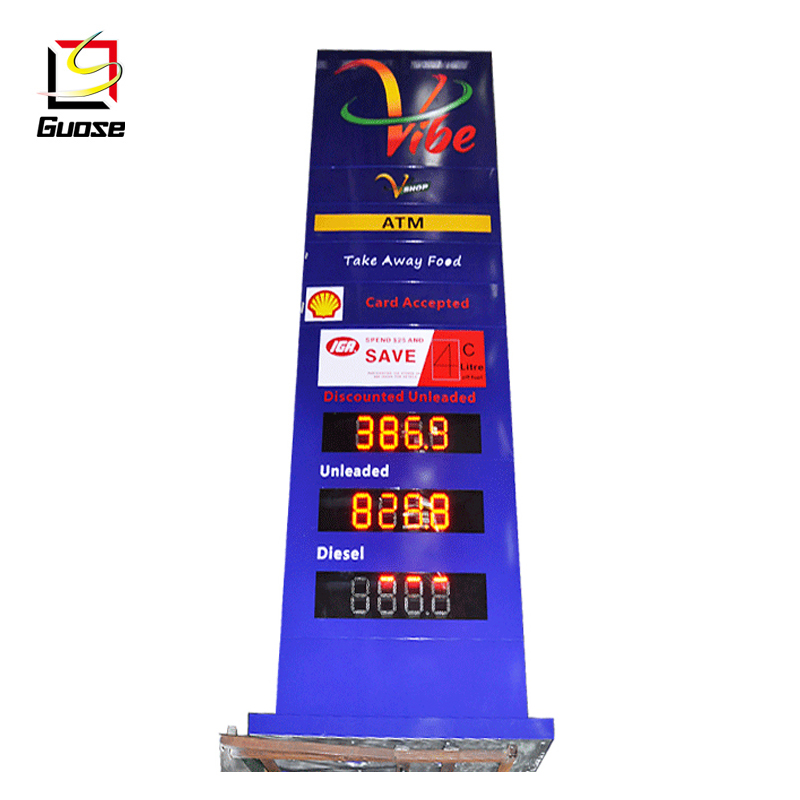 Gas Price LED Sign (Digital) 10